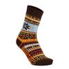 Libertad NORWAY SOCK Frauen - Wintersocken - BROWN
