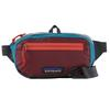 Patagonia ULTRALIGHT BLACK HOLE MINI HIP PACK Unisex - Hüfttasche - PATCHWORK: ROAMER RED