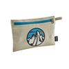Patagonia ZIPPERED POUCH Unisex - Packbeutel - FITZ ROY SCOPE ICON: BLEACHED