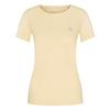 FRILUFTS BITONTO EMBROIDERED T-SHIRT Frauen - Funktionsshirt - FRENCH VANILLA