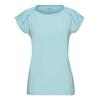 FRILUFTS MOLFETTA CAP T-SHIRT Frauen - Funktionsshirt - CRYSTAL BLUE