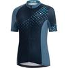 Gore Wear GORE C3 DAMEN HEART TRIKOT Frauen - Fahrradtrikot - DEEP WATER BLUE/ORBIT BLUE