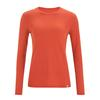 Fjällräven HIGH COAST LITE TOP LS W Frauen - Funktionsshirt - ROWAN RED