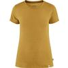 Fjällräven HIGH COAST LITE T-SHIRT W Frauen - Funktionsshirt - OCHRE