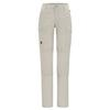 Fjällräven TRAVELLERS MT 3-STAGE TRS W Frauen - Reisehose - LIGHT BEIGE