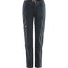 Fjällräven TRAVELLERS MT 3-STAGE TRS W Frauen - Reisehose - DARK NAVY
