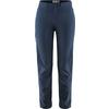 Fjällräven HIGH COAST LITE TROUSERS W Frauen - Reisehose - NAVY