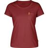 Fjällräven ÖVIK T-SHIRT W Frauen - T-Shirt - RASPBERRY RED