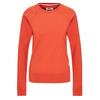 Fjällräven GREENLAND SWEATER W Frauen - Sweatshirt - ROWAN RED