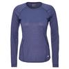 Arc'teryx TOLU TOP LS WOMEN' S Frauen - Langarmshirt - HUBBLE