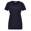 Icebreaker WMNS TECH LITE SS LOW CREWE CADENCE PATHS Frauen - Funktionsshirt - MIDNIGHT NAVY
