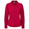 Jack Wolfskin CENTAURA FLEX SHIRT W Frauen - Outdoor Bluse - SCARLET CHECKS