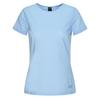 Jack Wolfskin NATA RIVER SHORTSLEEVE W Frauen - Funktionsshirt - ICE BLUE STRIPES