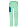 Jack Wolfskin OVERLAND ZIP AWAY W Frauen - Softshellhose - PACIFIC GREEN