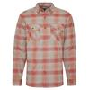 Royal Robbins LOST COAST FLANNEL PLAID L/S Männer - Outdoor Hemd - RED ROCK