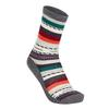 Smartwool WOMEN' S HIKE LIGHT MARGARITA CREW Frauen - Wandersocken - MEDIUM GRAY