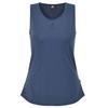 Mountain Equipment EQUINOX WMNS VEST Frauen - Trägershirt - DENIM SOLID