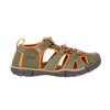 Keen SEACAMP II CNX Kinder - Outdoor Sandalen - DUSTY OLIVE/RUSSET ORANGE