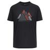 Scott SCO SHIRT M' S TRAIL MTN DRI GRAPHIC S/SL Männer - Funktionsshirt - BLACK