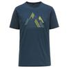 Scott SCO SHIRT M' S TRAIL MTN DRI GRAPHIC S/SL Männer - Funktionsshirt - NIGHTFALL BLUE