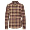 Royal Robbins LIEBACK FLANNEL L/S Frauen - Outdoor Bluse - MARRON