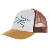 Arc'teryx BIRD TRUCKER HAT - Mütze - ELK/FLUX/DELOS GREY