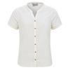 Royal Robbins COOL MESH ECO S/S Frauen - Outdoor Bluse - CREME