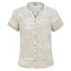 Royal Robbins COOL MESH ECO S/S Frauen - Outdoor Bluse - DESERT PT