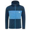 The North Face M BLOCKED FZ HD Männer - Fleecejacke - BLUEWNGTEAL/CLEARLAKEBLUE
