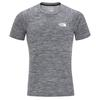 The North Face M IMPENDOR TEE Männer - Funktionsshirt - TNFBLACKWHITEHTR/TNFWHITE