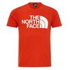 The North Face M REAXION EASY TEE Männer - Funktionsshirt - FIERY RED