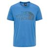The North Face M REAXION EASY TEE Männer - Funktionsshirt - CLEAR LAKE BLUE HEATHER