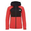 The North Face W IMPENDOR 2.5L JACKET Frauen - Regenjacke - CAYENNE RED/TNF BLACK