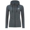 The North Face W MEZZALUNA  FULL ZIP  HOODIE - EU Frauen - Fleecejacke - TNF BLCK STRIPE/TNF WHITE