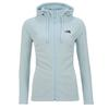 The North Face W MEZZALUNA  FULL ZIP  HOODIE - EU Frauen - Fleecejacke - ANGEL FALLS BLUE STRIPE