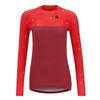 Triple2 SWET LS NUL - RECYCLED POLY JERSEY WOMEN Frauen - Funktionsshirt - BEET RED