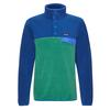 Patagonia M' S LW SYNCH SNAP-T P/O - EU FIT Männer - Fleecepullover - EELGRASS GREEN