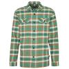 Patagonia M' S L/S FJORD FLANNEL SHIRT Männer - Outdoor Hemd - INDEPENDENCE: EELGRASS GREEN