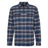 Patagonia M' S L/S FJORD FLANNEL SHIRT Männer - Outdoor Hemd - INDEPENDENCE: NEW NAVY