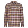 Patagonia M' S L/S FJORD FLANNEL SHIRT Männer - Outdoor Hemd - INDEPENDENCE: FORGE GREY