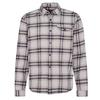 Patagonia M' S LW FJORD FLANNEL SHIRT Männer - Outdoor Hemd - LAWRENCE: SALT GREY
