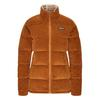 Patagonia W' S CORD FJORD COAT Frauen - Daunenmantel - WOOD BROWN