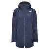 The North Face W HIKESTELLER INSULATED PARKA - EU Frauen - Wintermantel - URBAN NAVY/TNF WHITE
