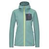 Patagonia W' S R1 AIR FULL-ZIP HOODY Frauen - Fleecejacke - REGEN GREEN