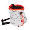 Ocun LUCKY + BELT - Chalkbag - WHITE/ORANGE