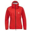 Haglöfs L.I.M PROOF MULTI JACKET WOMEN Frauen - Regenjacke - HIBISCUS RED