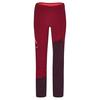 Ortovox COL BECCHEI PANTS W Frauen - Skihose - DARK BLOOD
