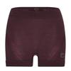 Ortovox 120 COMP LIGHT HOT PANTS W Frauen - Funktionsunterwäsche - DARK WINE