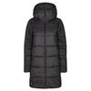Icebreaker W COLLINGWOOD 3Q HOODED JACKET Frauen - Wintermantel - BLACK