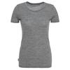 Icebreaker WMNS TECH LITE SS LOW CREWE Frauen - Funktionsshirt - GRITSTONE HEATHER